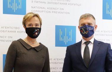 Голова НАЗК та Надзвичайний і Повноважний Посол Федеративної Республіки Німеччина в Україні провели робочу зустріч