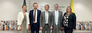 Head of Ukraine's National Agency on Corruption Prevention and IFES President Discuss Political Finance