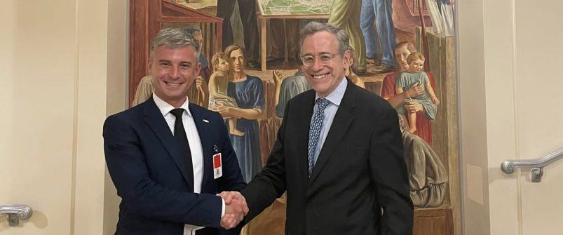 Голова НАЗК Олександр Новіков провів робочі зустрічі з посадовцями Міністерства юстиції та Державного департаменту США